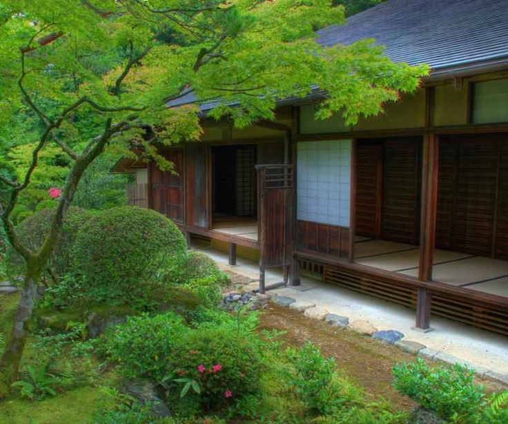 Traditional Japanese Architecture Check Out Mountain Laurel Handrails At