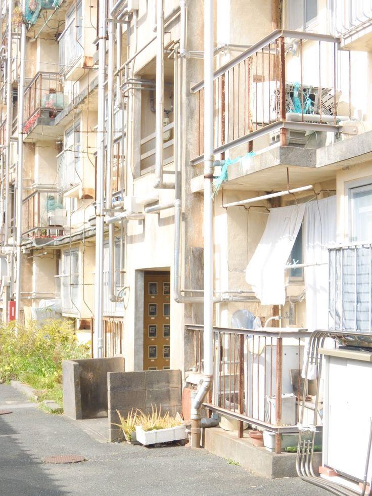 浜松市営亀山第一アパート(1952年) 静岡県浜松市 2015