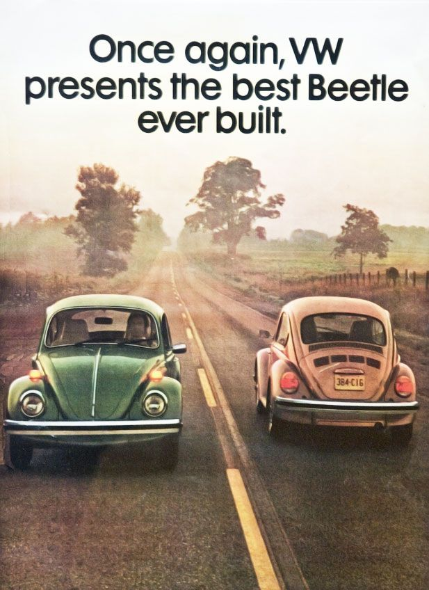 37 best vintage vw ads images on pinterest. Black Bedroom Furniture Sets. Home Design Ideas