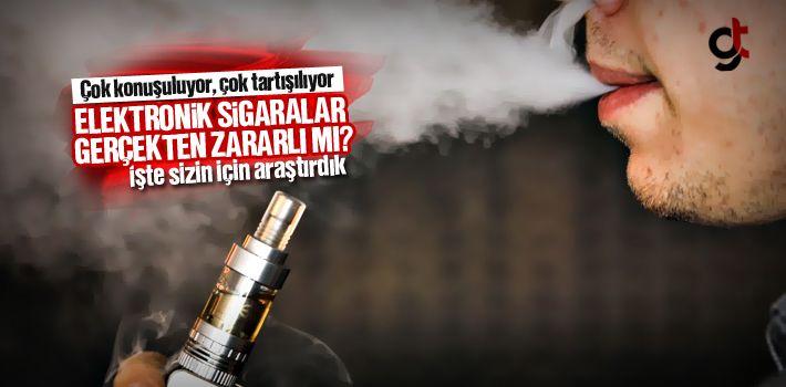 Elektronik Sigaralar Gerçekten Zararlı Mı?