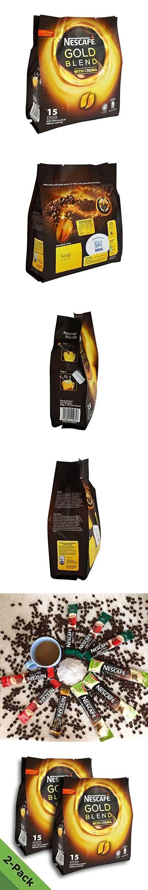 2 Pack Nescafe Gold Blend 3in1 Instant Coffee (30