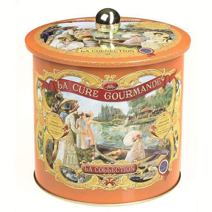 Boîte à biscuits Cylindre Orange – Commandez | Collection Orange
