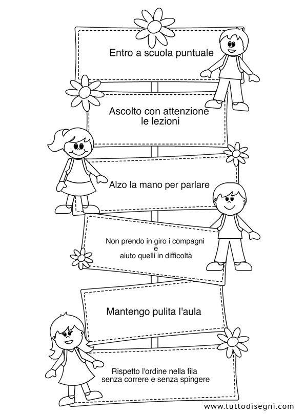 Le regole di classe - TuttoDisegni.com