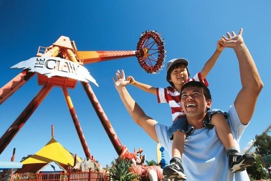 Queensland bucket list | 38. Conquer the 'Big 8' thrill rides at Dreamworld.