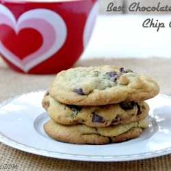 Best Chocolate Chip Cookies recipe. I made these a few days ago and let me tell you by far the BEST choc chip cookies I have ever had! WOWO!