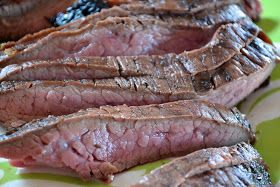 """""""Point-less"""" Meals: Grilled Balsamic Flank Steak"""