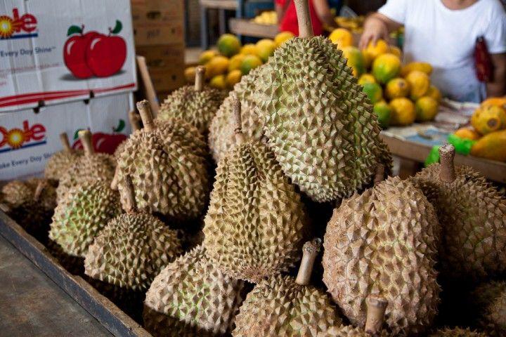 Le durian, fruit qui pue, fruit qui tue