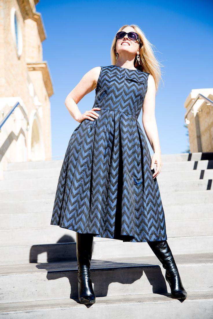 House of Holland Fall 2015 Ready-to-Wear midi dress