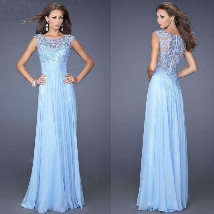 Vestido Longo De Festa Lindo Casamento Madrinhas Importado - R$ 89,99 no MercadoLivre