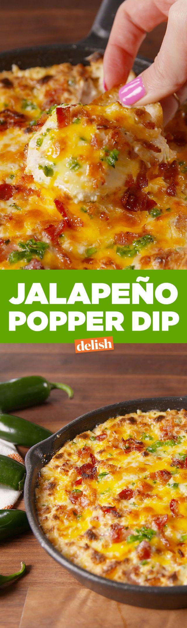 Best Jalapeño Popper Dip - How to Make Jalapeño Popper Dip