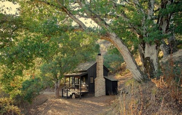 Tiny self sufficient house in California
