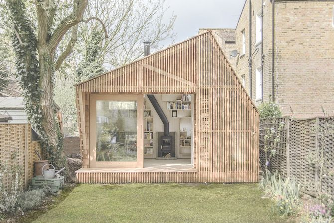 dream studio \\\\\ Writer's shed by Weston Surman and Deane Architecture / via this is paper