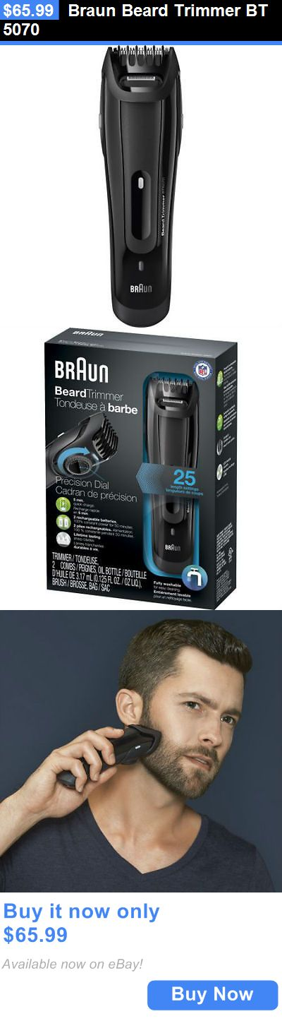 Clipper and Trimmer Parts: Braun Beard Trimmer Bt 5070 BUY IT NOW ONLY: $65.99