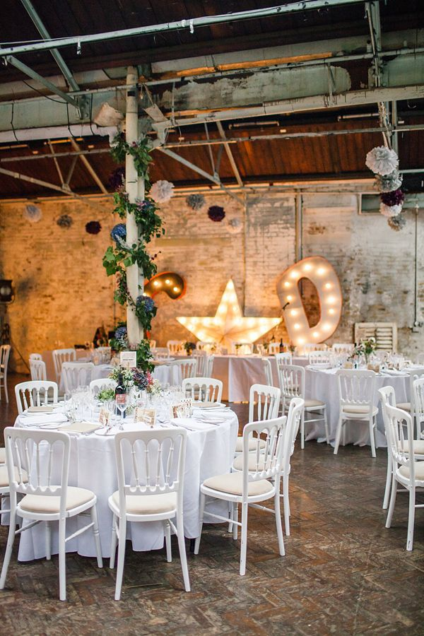 Jenny Packham, Purple And London Love ~ A Modern Vintage Inspired Hackney Wedding