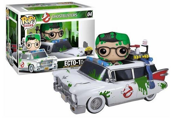 Ghostbusters toy tokyo ecto 1 pop vinyl exclusive