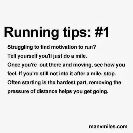 Running tips and help for beginner runners  Get more running motivation and running tips at manvmiles.com.