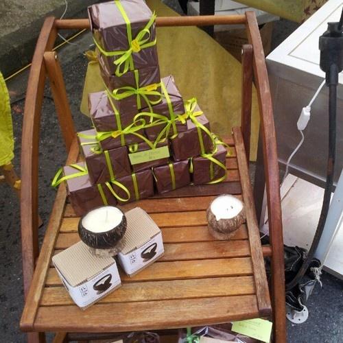 La bougie de massage, une belle idée de cadeau #noël #baziège #marché