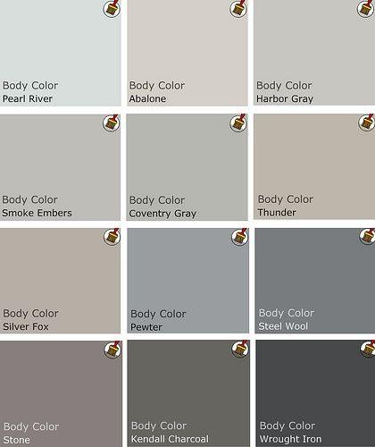Benjamin moore top picks for gray for the home - Nuance de gris peinture ...