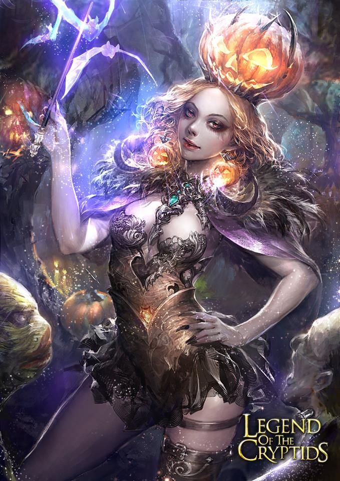 Artist: Unknown name aka neozeonkuk - Title: Unknown - Card: Queen Witch Nhiron