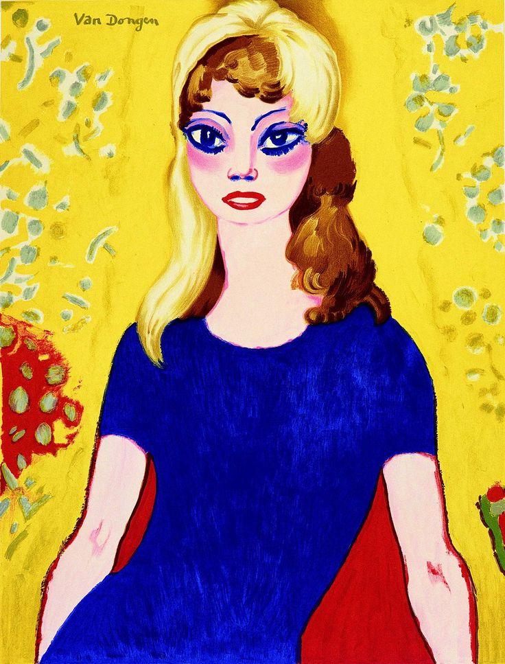 Kees van Dongen, Brigitte Bardot. 1964.