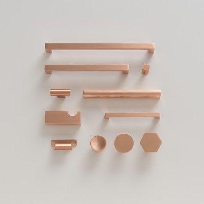 Edgecliff Pull - Satin Copper   Drawer Pulls   Hardware #slowdownwithschoolhouse