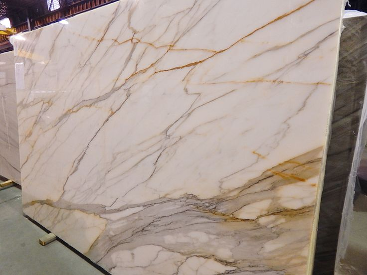 This exotic piece is called the Calacatta Borghini