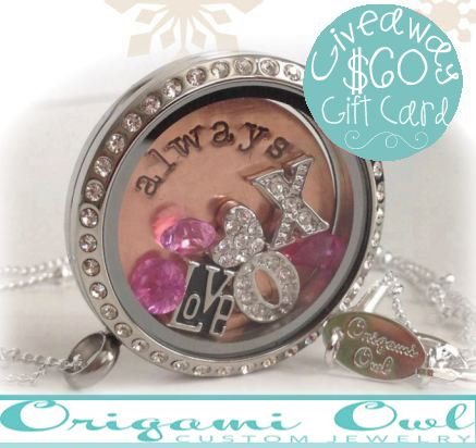 Whatever Goes Hop: $60 of Origami Owl Jewelry Giveaway | Ends 11.11.13