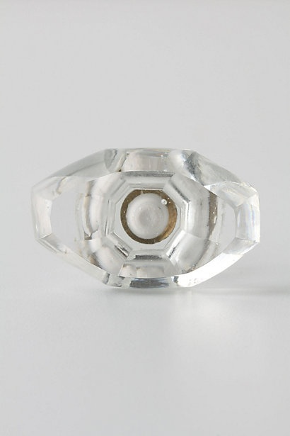 Glass and brass knob statement hardware pinterest for Ikea kitchen cabinet pulls
