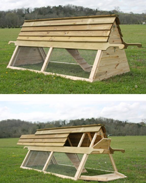 Best 25 chicken coop garden ideas on pinterest chicken for Diy movable chicken coop