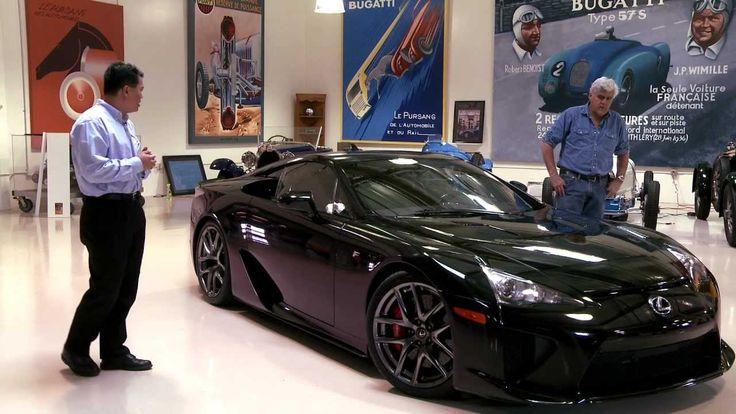 http://www.strictlyforeign.biz/default.asp Lexus LFA - Jay Leno's Garage