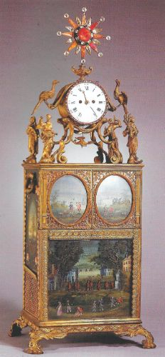 Nécessaire par John Barbot, vers 1750. Musée du Palais Impérial à Beijing                                                                                                                                                                                 More