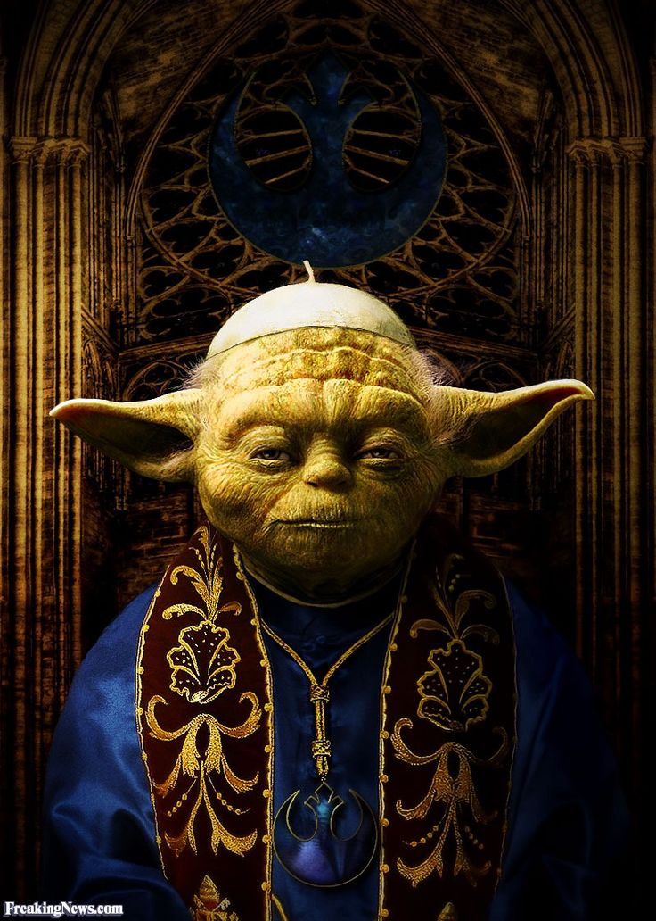 Pope Yoda Pictures - Freaking News