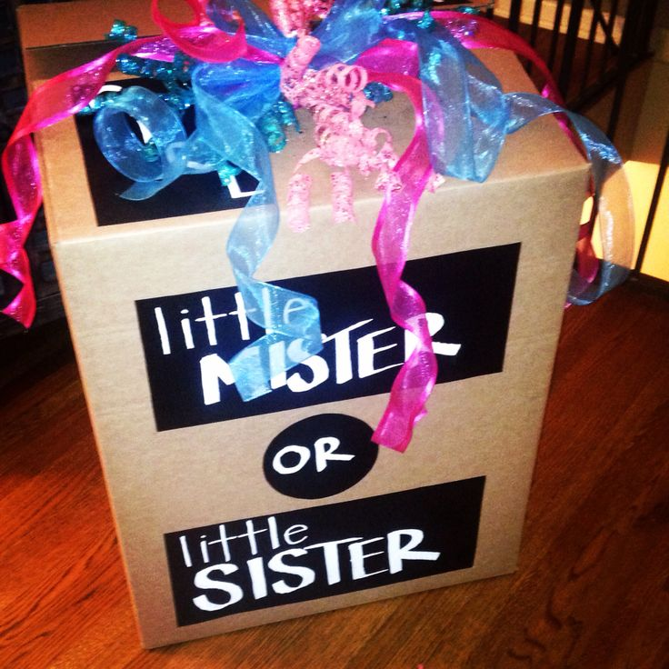 Gender Reveal Box