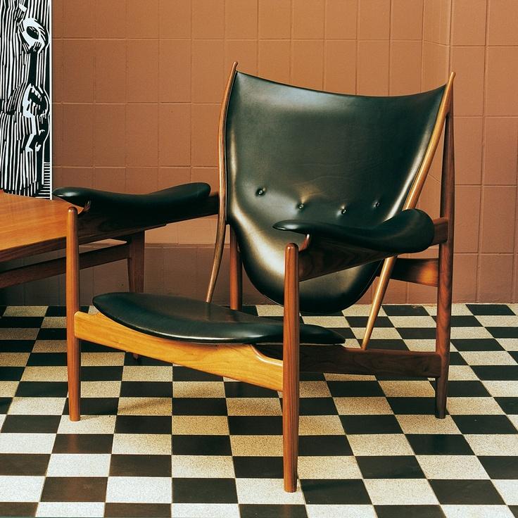 Chieftains Chair, House of Finn Juhl. Design by Finn Juhl.