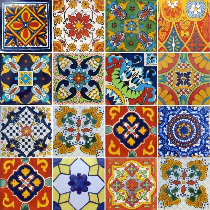 15 pines de azulejos mexicanos que no te puedes perder for Azulejos estilo mexicano