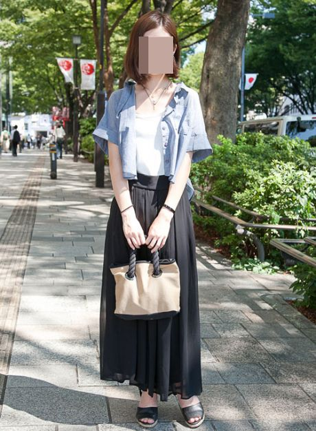 「【画象】こういう服装の女子大生多すぎだろ。お前ら的にアリ?」の画像 : キニ速