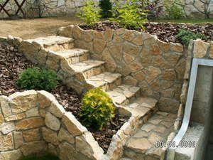 Escaleras de piedra exteriores buscar con google - Escalones de piedra ...