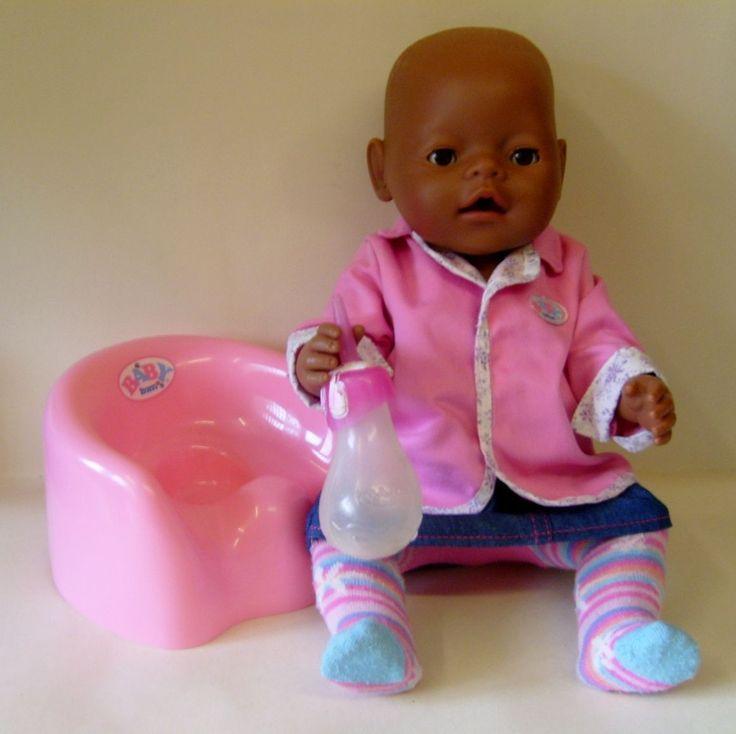 Lovely Baby Born Ethnic Magic Eyes Doll By Zapf Creation