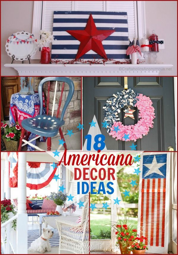Fourth Of July Room Decor