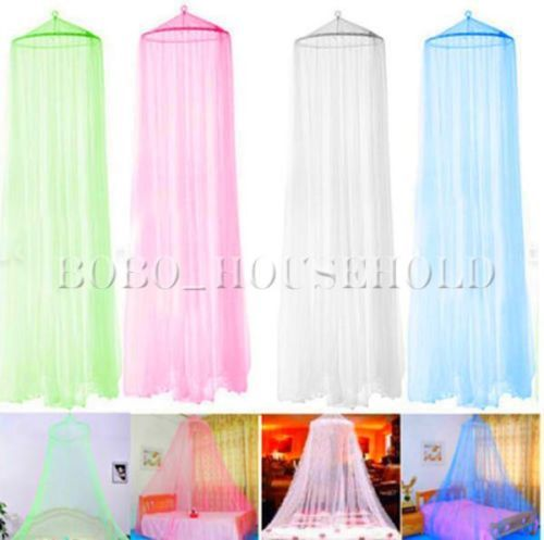 Mosquito Net Fly Lace Insect Protection Canopy Netting Curtain Bed Outdoor Dome in Mosquito Nets | eBay