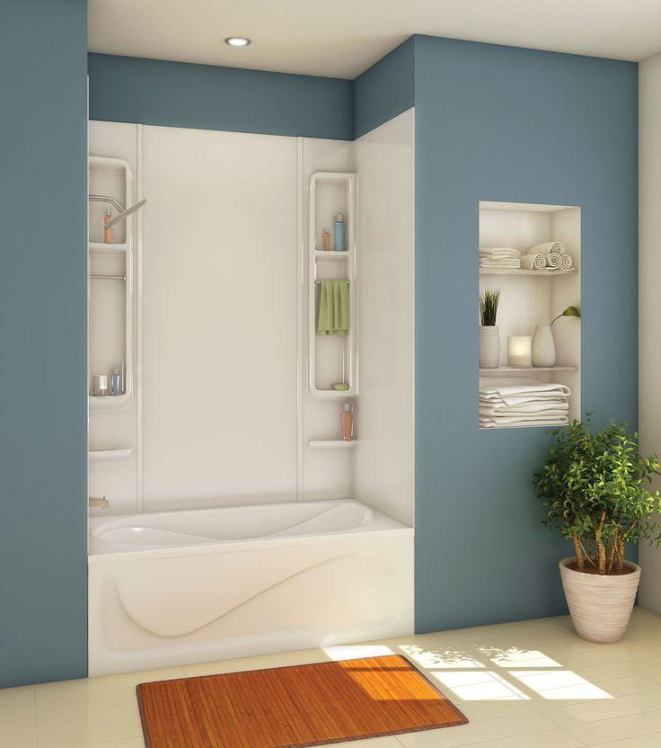 Alaska Acrylic Tub walls shower - Keystone by MAAX | Home ...