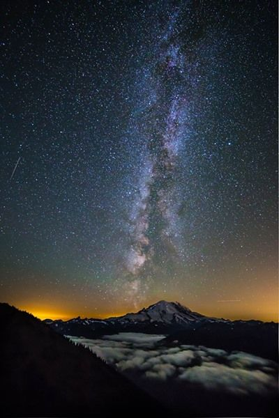 Andy Porter Photography   -    Mount Rainier from Crystal Mountain Ski Resort