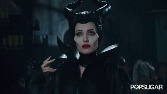 """""""Oh, I know."""" 11 Chilling Maleficent GIFs that Prove Angelina Jolie is the Ultimate Villian... I love her!!"""