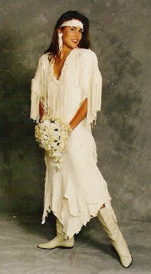 american indian wedding dress