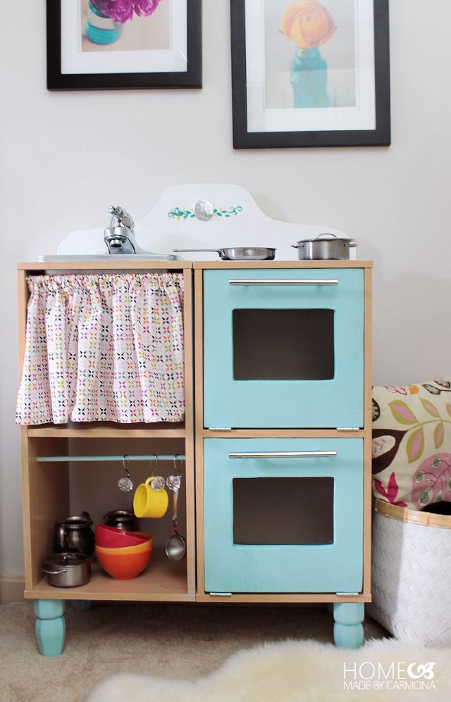 DIY Play Kitchen for Kids