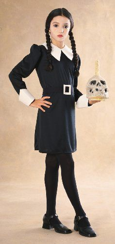 Addams Family Childs Wednesday Addams Costume. The one costume I would wear. FUN!!!