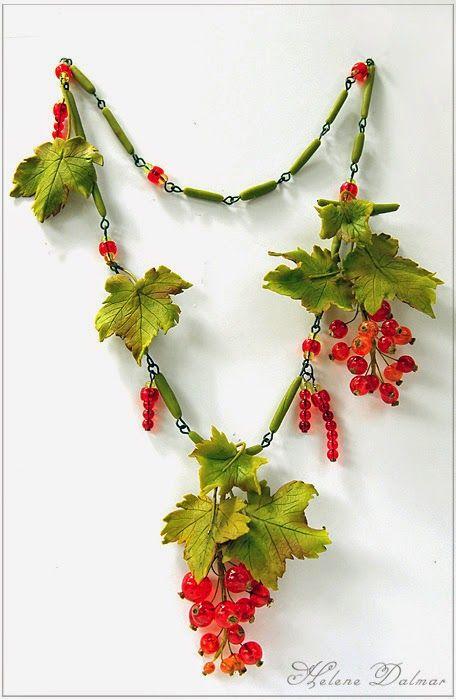 Цветочная феерия Ручная работа - Смородина (украшение)