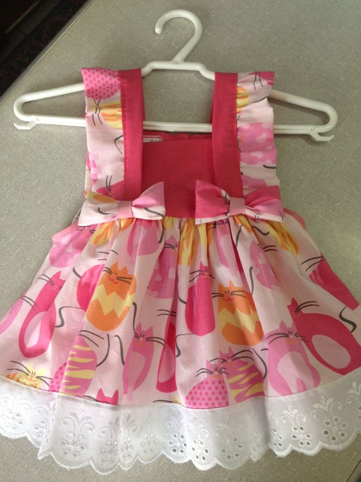 Pinafore toddler dress.  Sew for Emma's 2nd birthday?