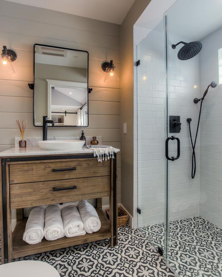 """744 Likes, 11 Comments - Cement Tile Shop (@cementtileshop) on Instagram: """"We just love everything about this bathroom by @spaziola in Los Angeles, CA featuring the in stock…"""""""