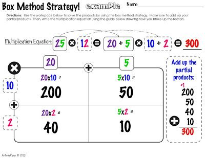 41 best images about M... Double Digit Multiplication Strategies